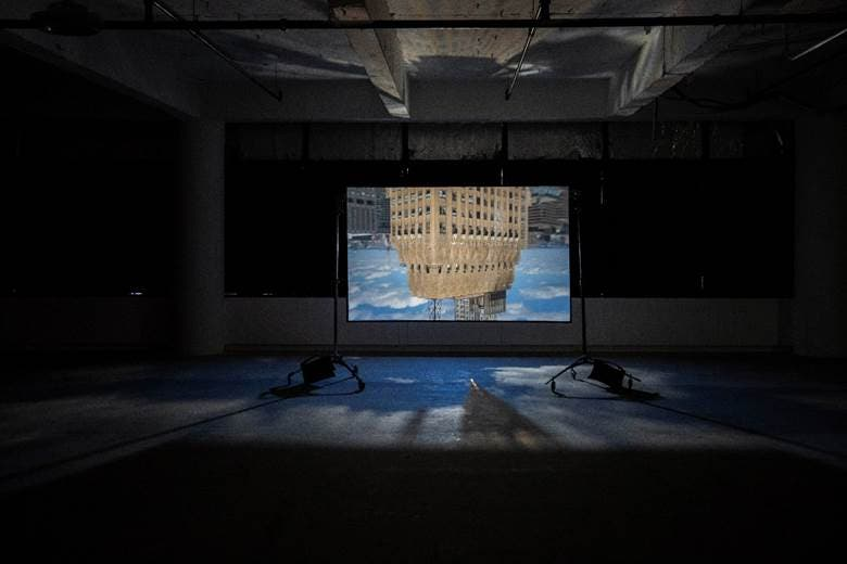 Brendan Barry Transformed a Skyscraper Space Into a Camera Obscura