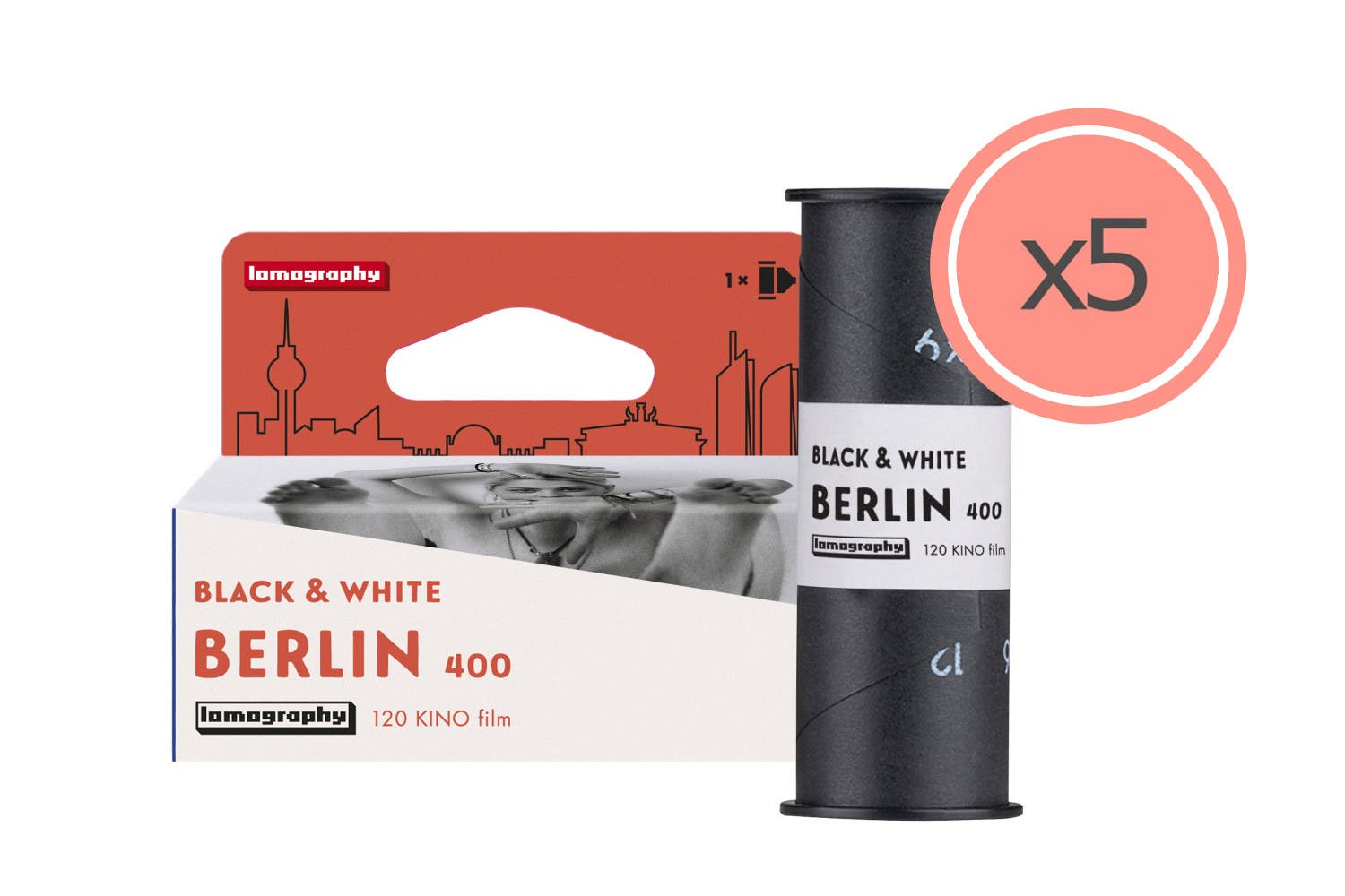 Lomography Berlin Kino Black and White Film Now Available in Medium Format