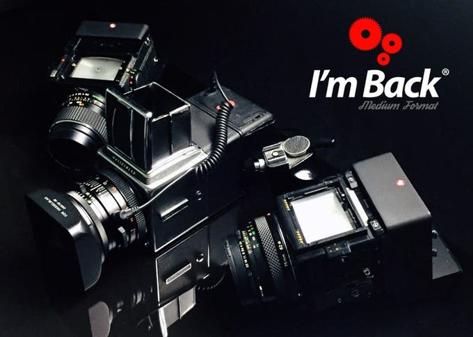 I'm Back MF Is a Low Cost Digital Back for Medium Format Film Cameras
