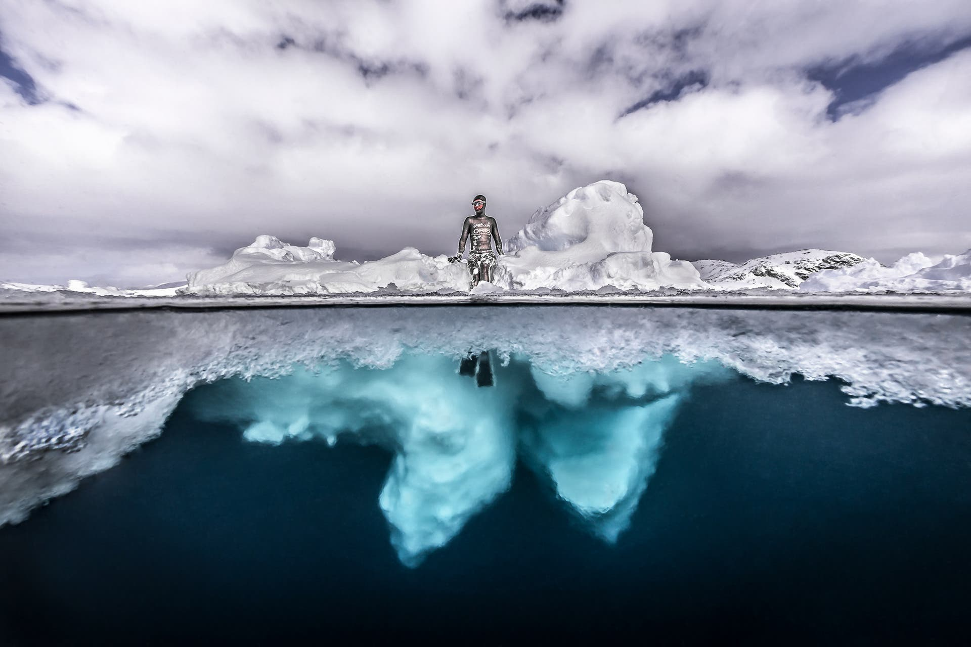 Tobias Friedrich Reveals Greenland's Stunning Shades of Water and Ice