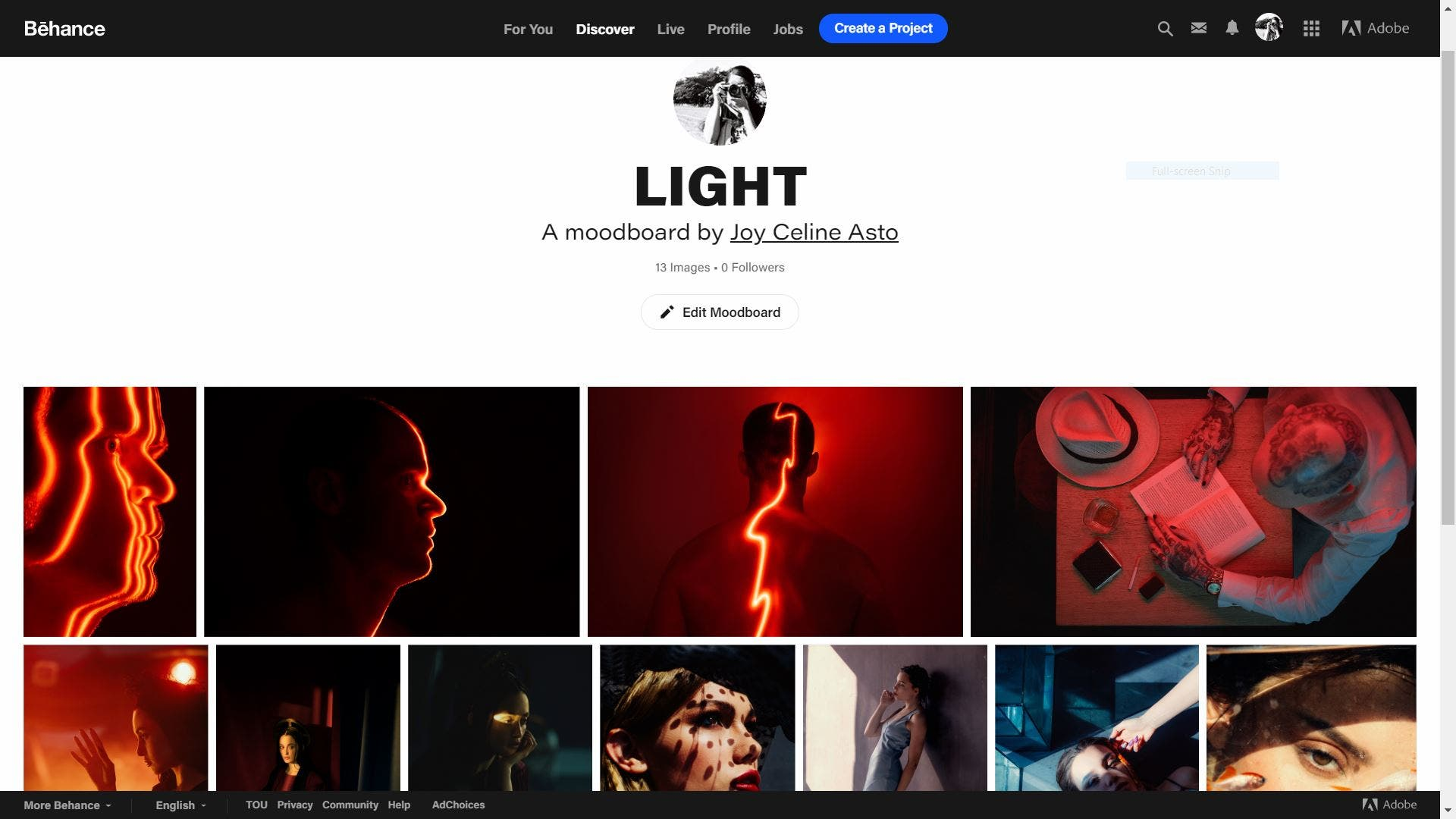 Behance's Moodboard Feature is an Ethical Alternative to Pinterest