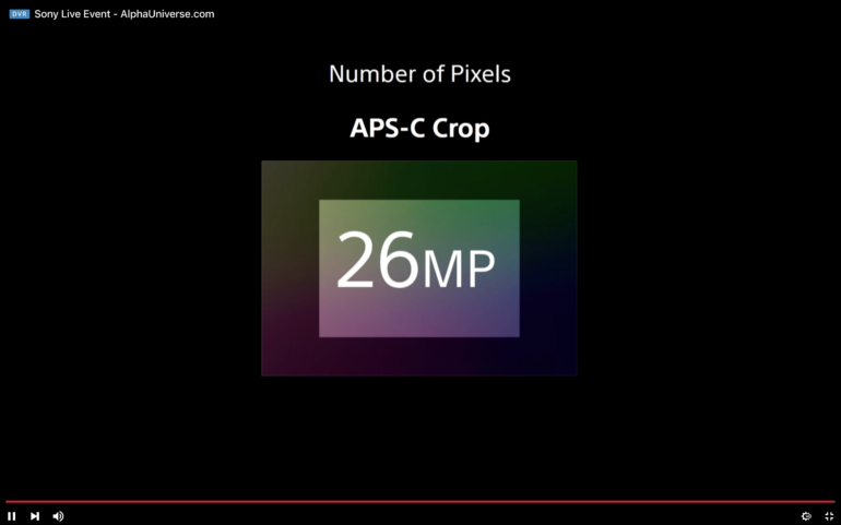 Is This Sony a7r IV Feature Signaling the End of APS-C Cameras?