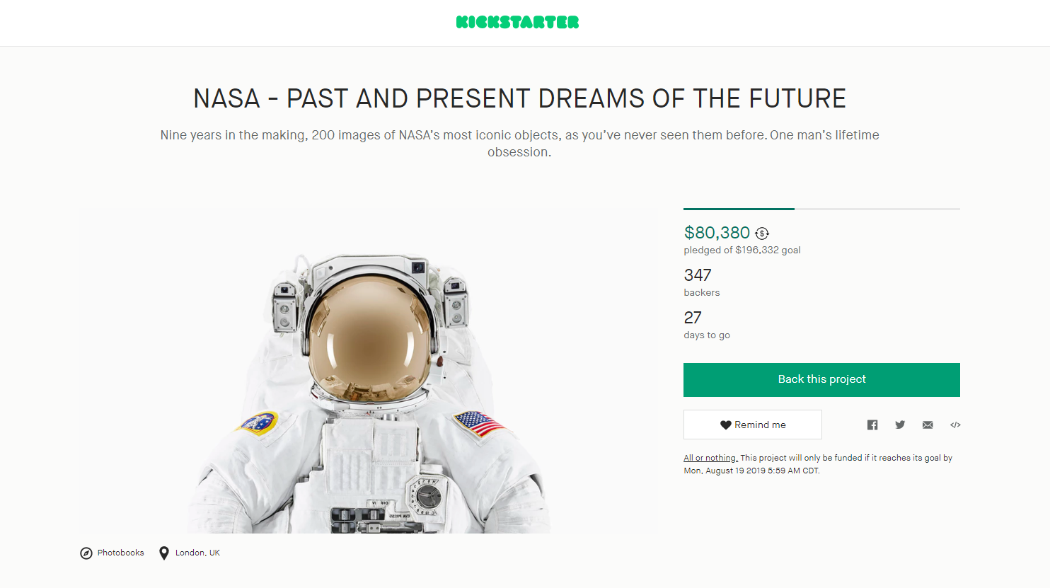 A Photography Project Has Captured Iconic NASA Items Like Never Before