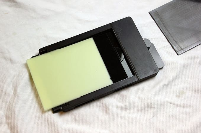 ChromaGraphica Double Dry Plate Holder Now Funding on Kickstarter