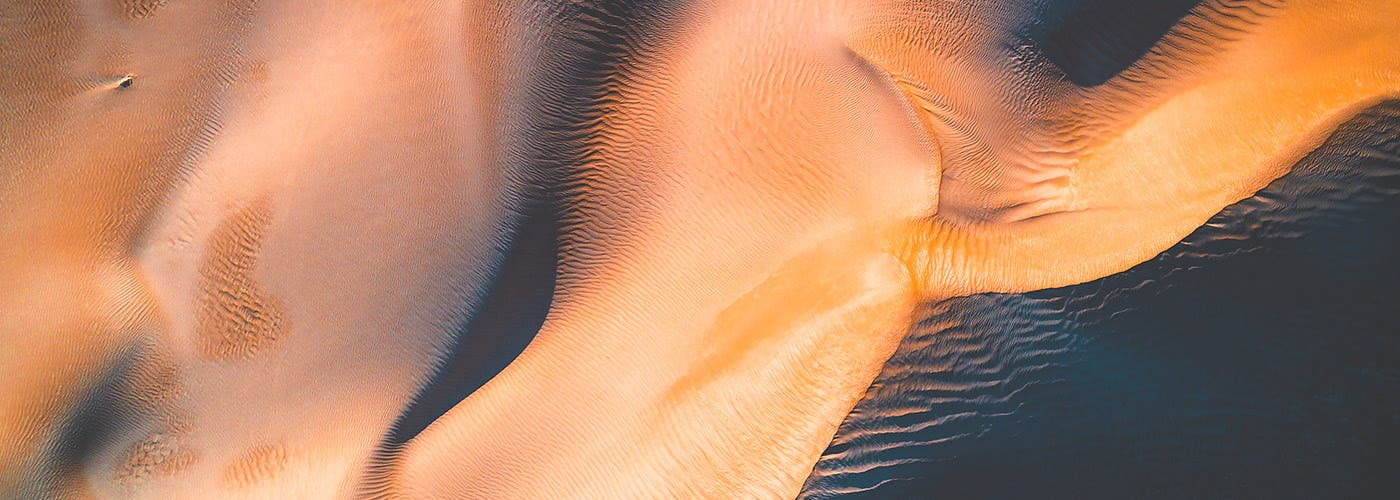 Kevin Krautgartner Plays with Light and Shadow in Aerial Photos of Dunes