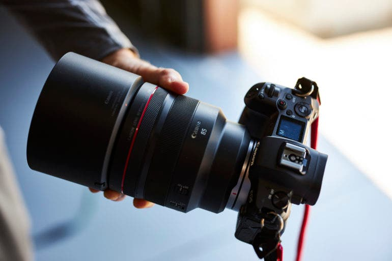 If Real, a Canon RF 135mm f1.4 Would be Great, But it Would be Huge