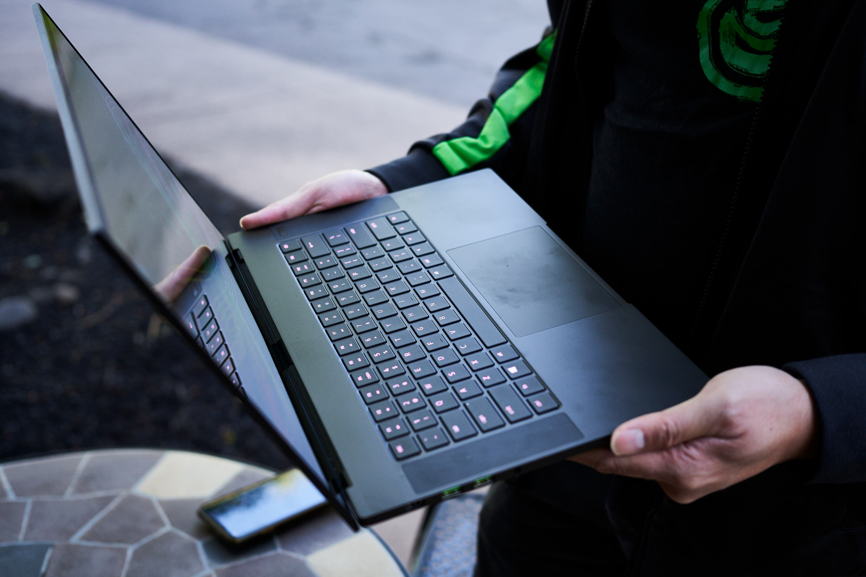 Editing Photos with the Razer Blade 15 Advanced Laptop