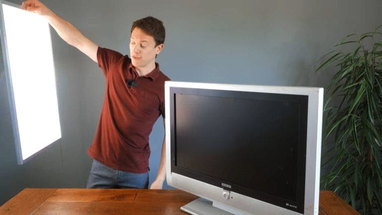 How To Turn Busted Lcd Tvs And Monitors Into Realistic Diy
