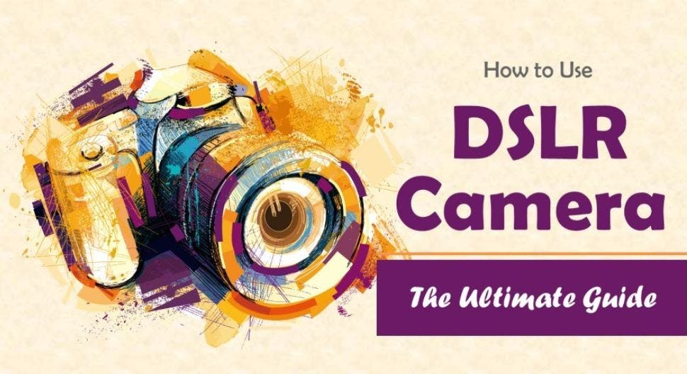 Photography Cheat Sheet: The DSLR for Dummies