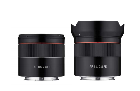 The E Mount Rokinon 18mm F2.8 AF Lens is Small And Affordable