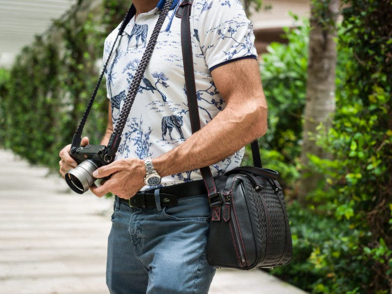 """The Lightweight Vi Vante """"Tiger"""" Lambskin Camera Strap Is Out Now"""
