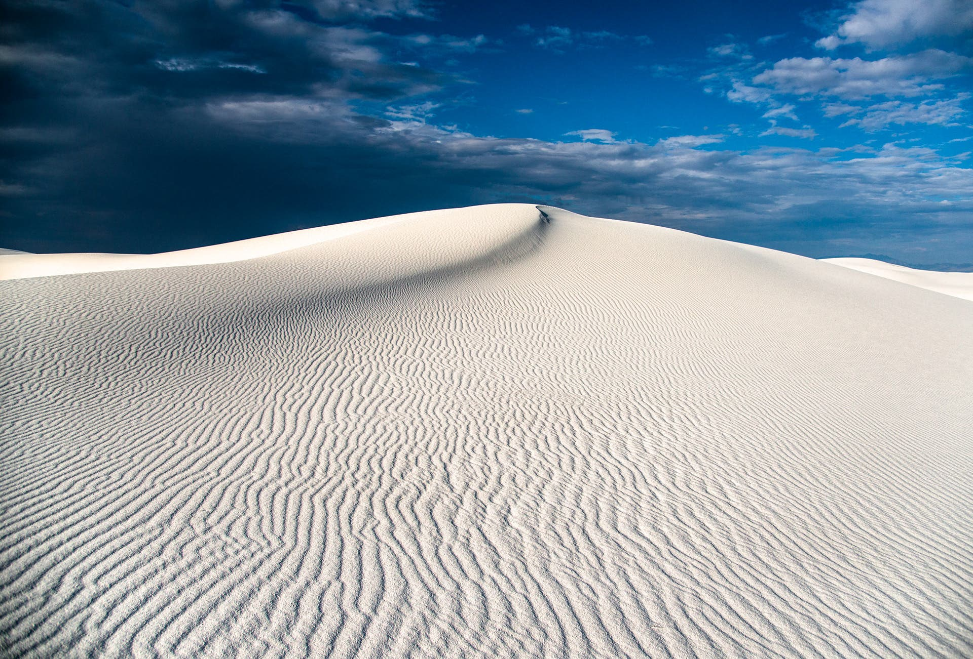 Surreal White Sand Dune Landscapes by Navid Baraty