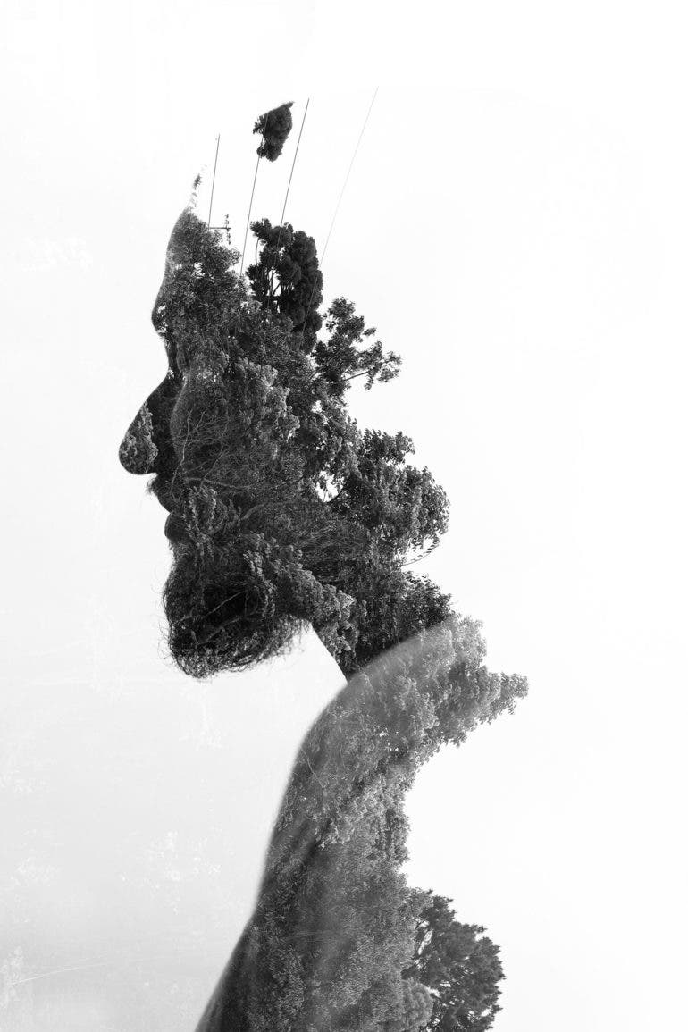 Gorgeous In-Camera Double Exposures by Luciano Meirelles