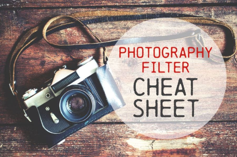Photography Cheat Sheet: Quick Lens Filter Guide