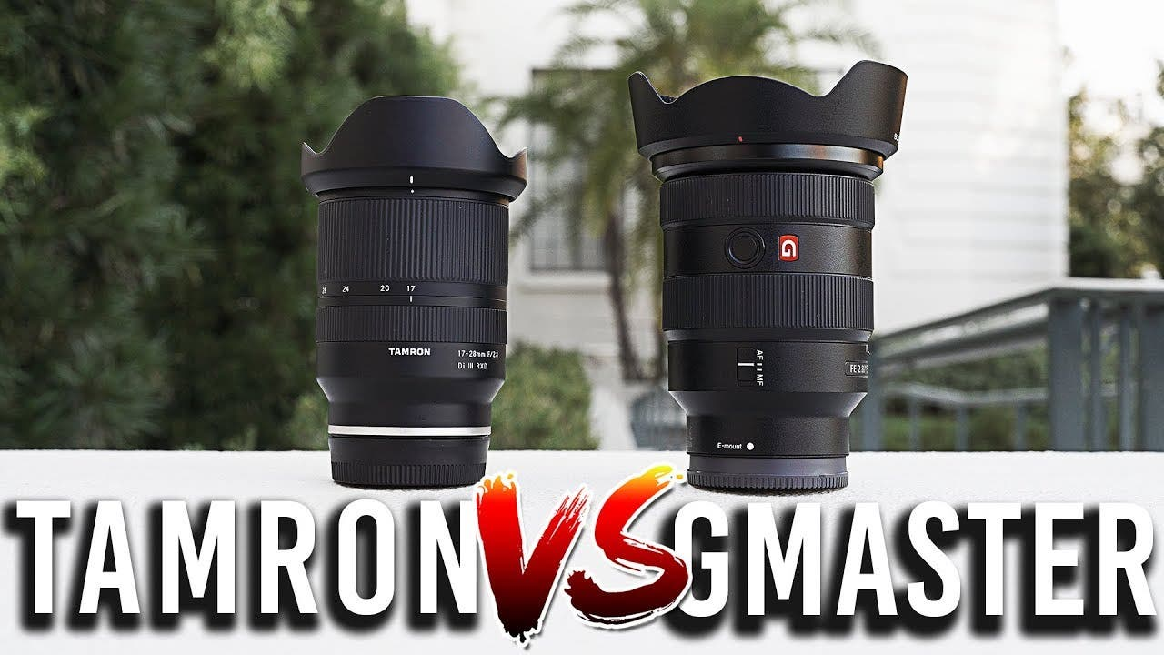 The Sony 16-35mm F2.8 GM vs the Tamron 17-28mm F2.8