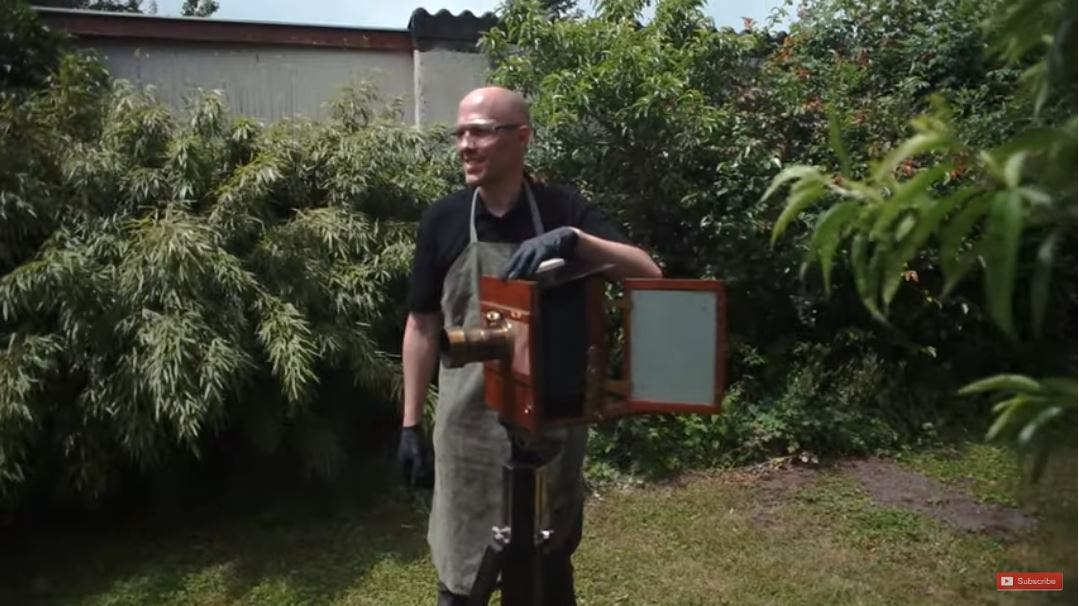 Shooting with a Cool 150-Year-Old Wet Plate Camera