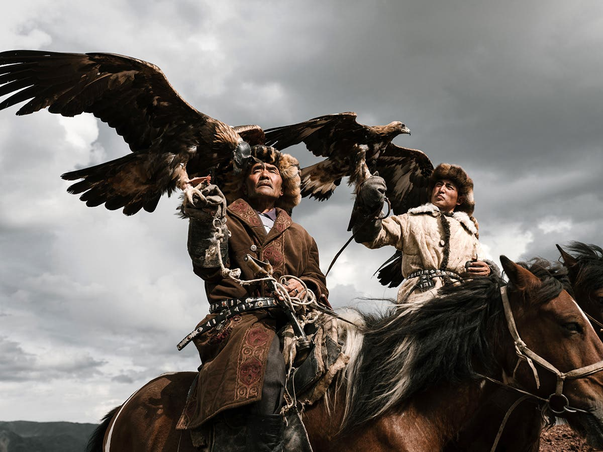 Nick Bondarev Introduces Us to the Eagle Hunters of Mongolia