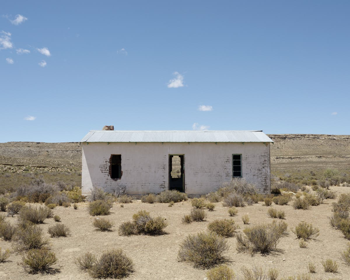 Dillon Marsh Imagines Expressive Faces on Rural Abandoned Houses