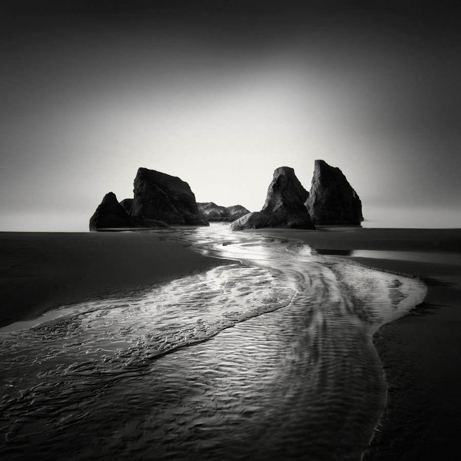 Nathan Wirth Captures the Ethereal Beauty of Streams Leading to the Sea