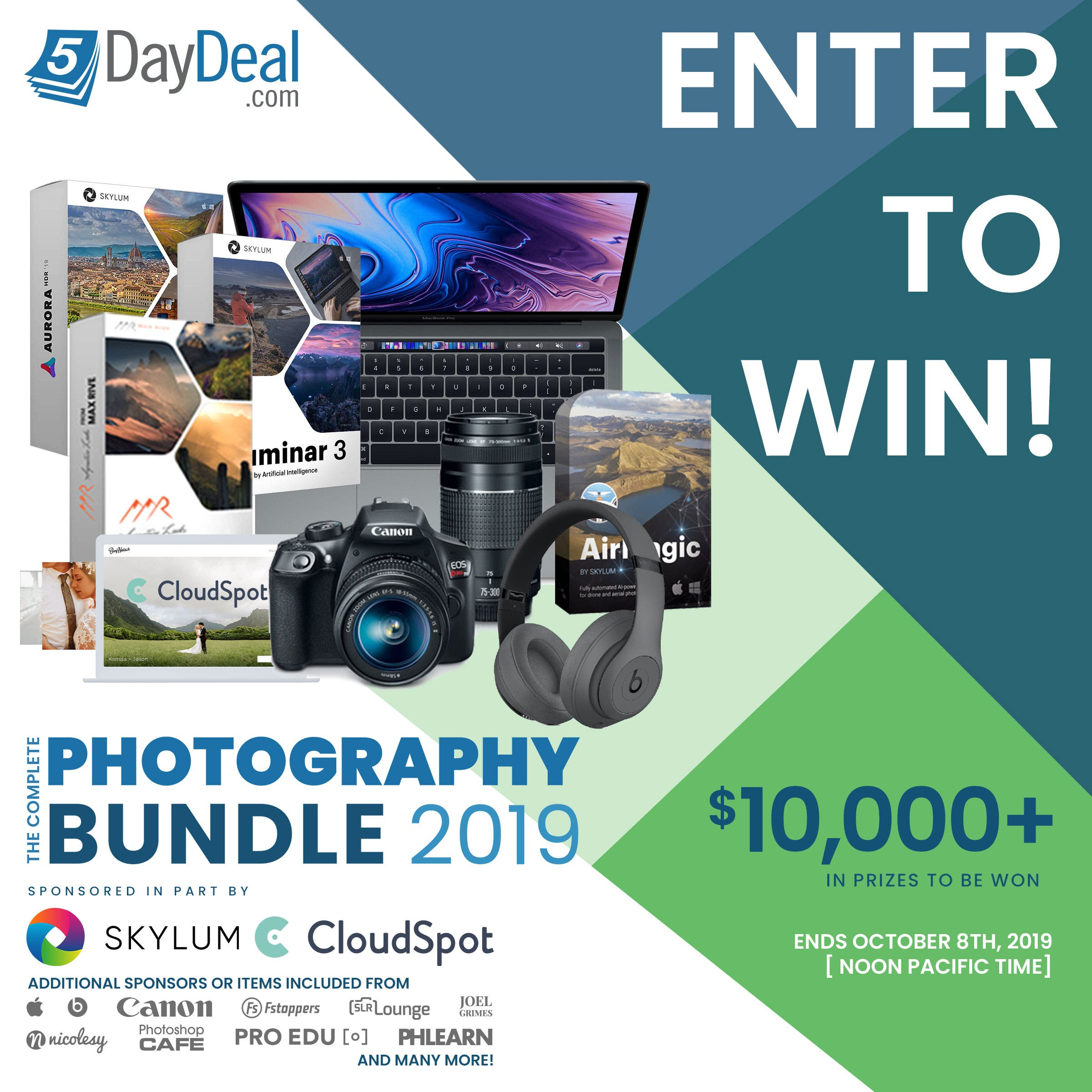 Enter the 5DayDeal $10,000 Giveaway and Buy All the Lenses You Want
