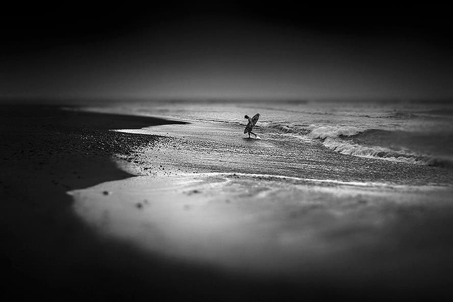 Hengki Koentjoro's Haunting Black and White Photos of a Bali Beach