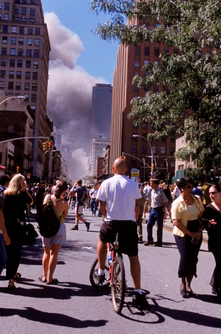 Nat Geo Photographer Ira Block on Processing His Home City After 9/11