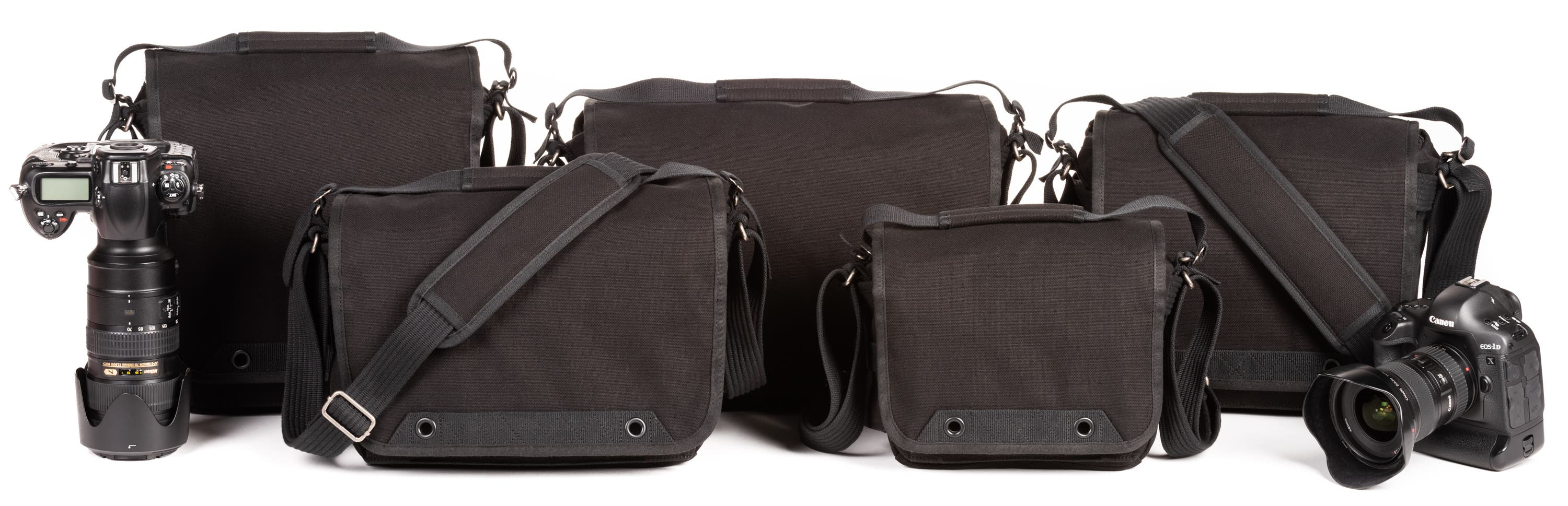 Think Tank's Retrospective Camera Bag Series Finally Comes in Black