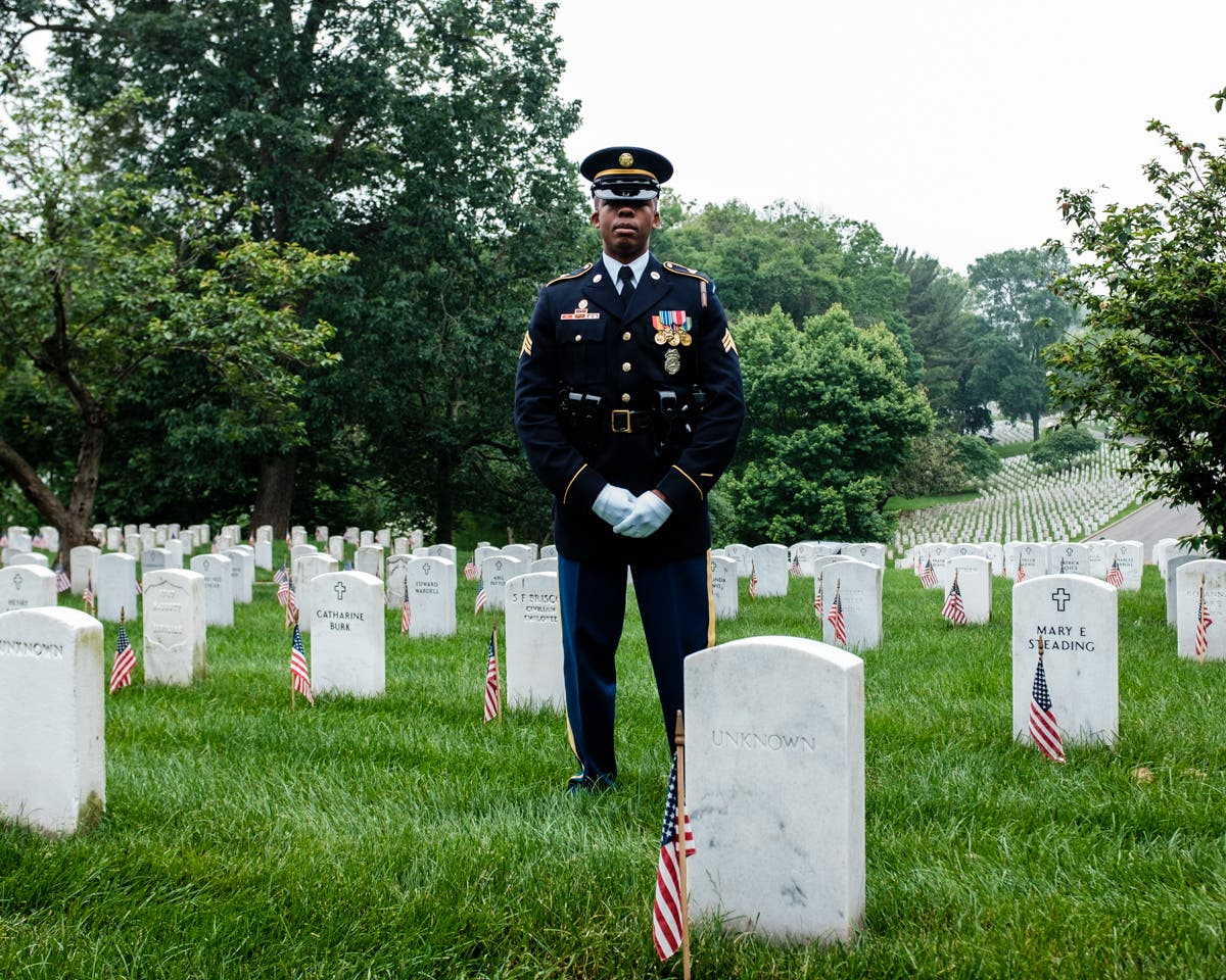 Photographer Michael A. McCoy Knows Arlington Cemetery's Secret Spot