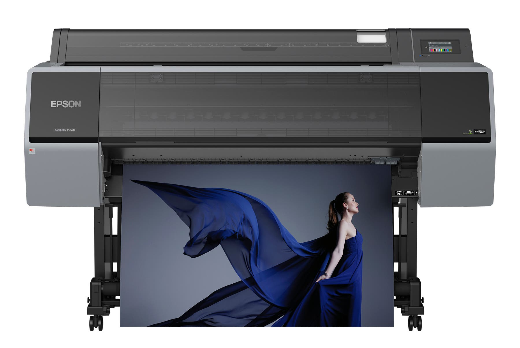 The P7570 and P9570 Epson Wide-Format Printers Use 12 Color Inks