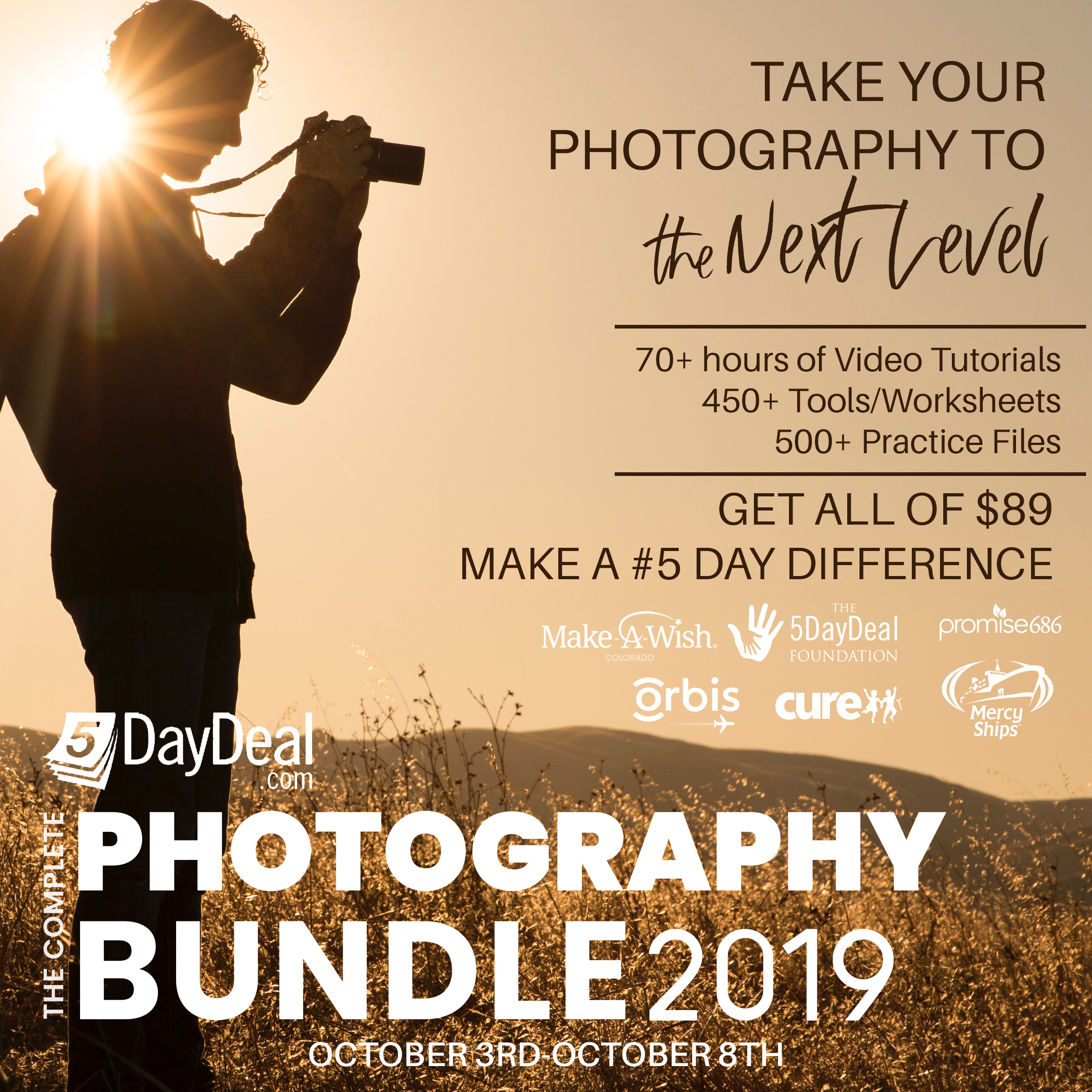 5DayDeal: The $89 Complete Photography Bundle Will Help You Grow