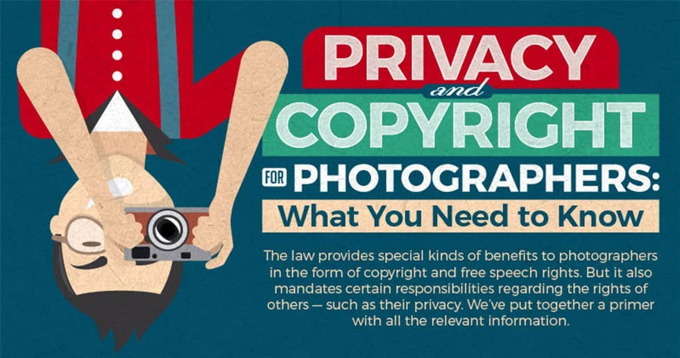 Photography Cheat Sheet: Privacy and Copyright for Photographers
