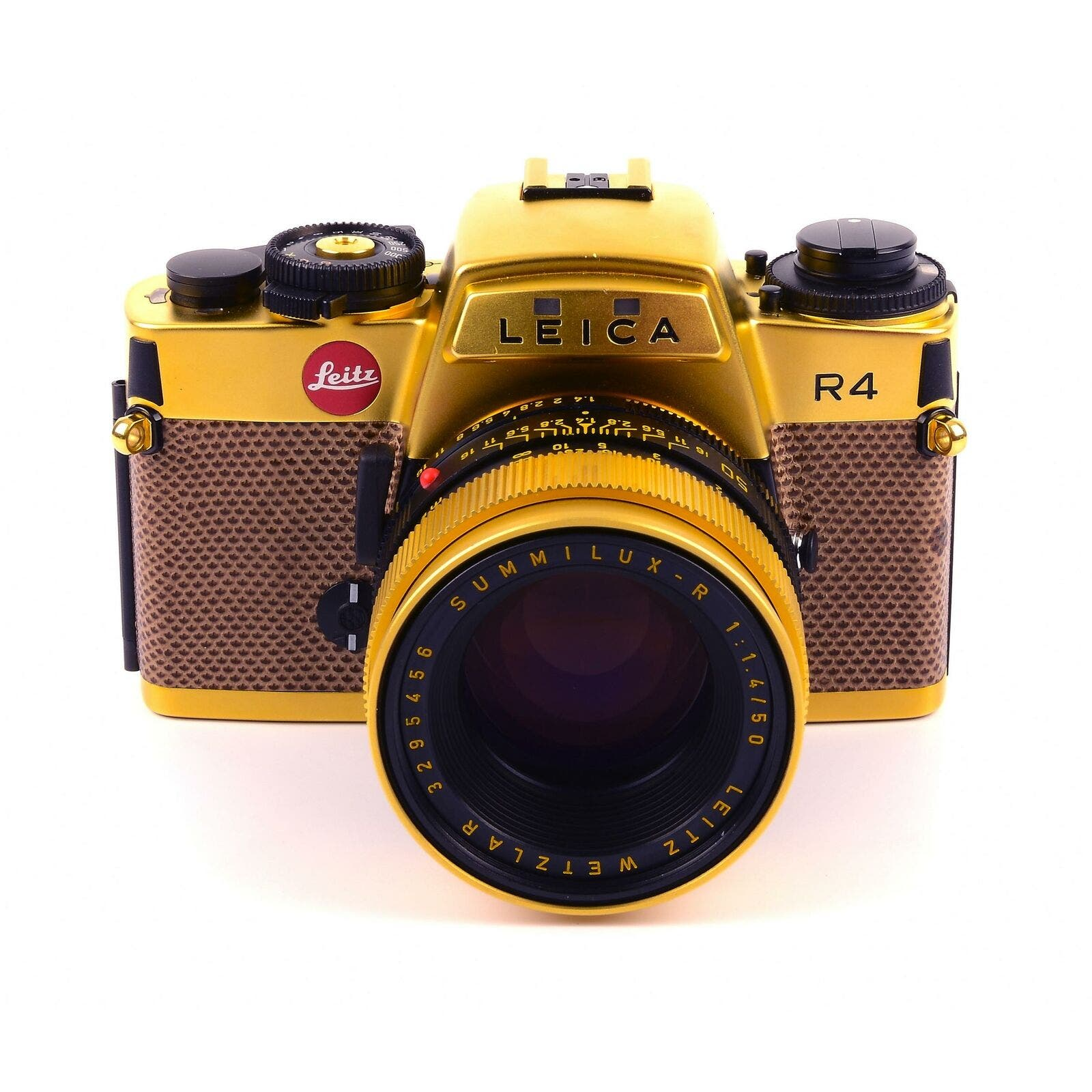 Grab This Limited Edition Gold Leica R4 for $3,150