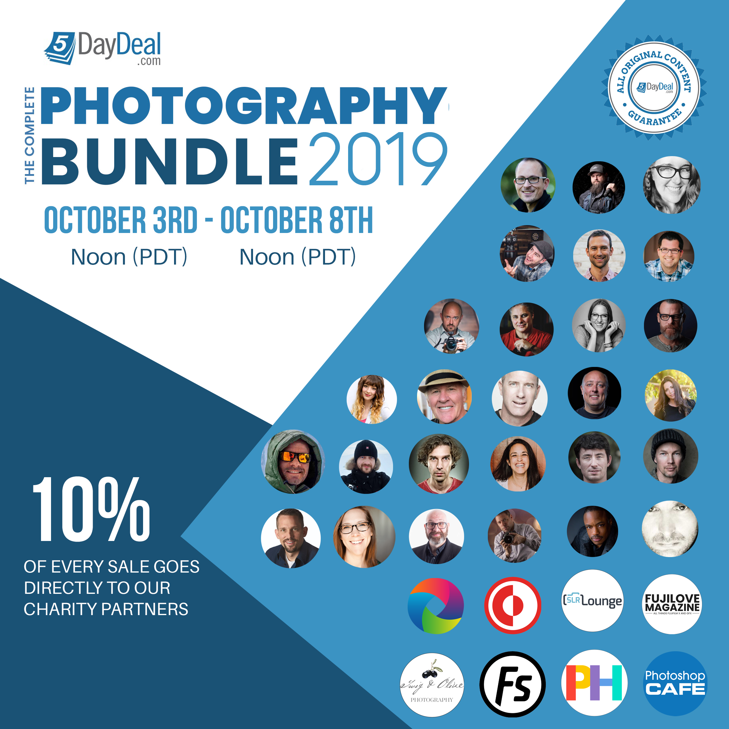 Save 97% When You Buy the Complete Photography Bundle 2019 ($89)