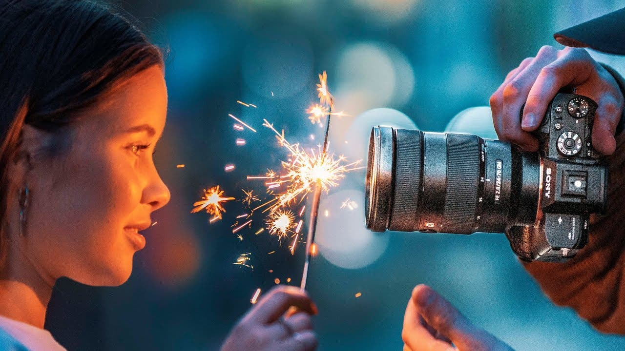 Learn How to Shoot Cool Portraits With These Sparkler Photography Tricks