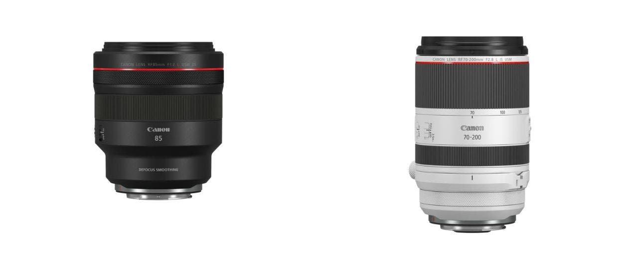 Canon Announces Two New RF Lenses Geared for Portrait Photographers