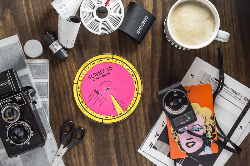 Photography Cheat Sheet: Sunny 16 Guide Wheel