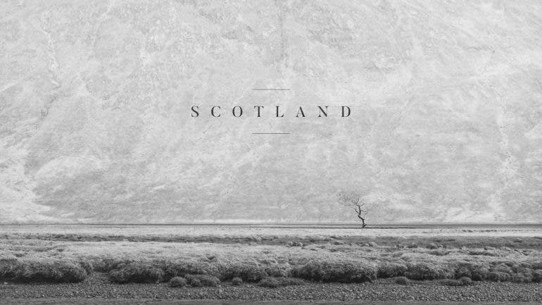 Philipp Apler Showcases the Beauty of Scotland in Moody Black and White