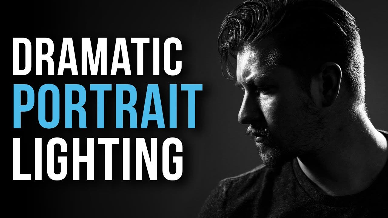 How to Shoot Dramatic Portraits With One Light Source