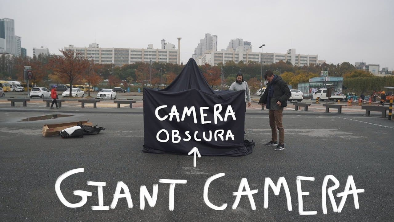 A Giant Portable Camera Obscura is Setting Up in Seoul Soon