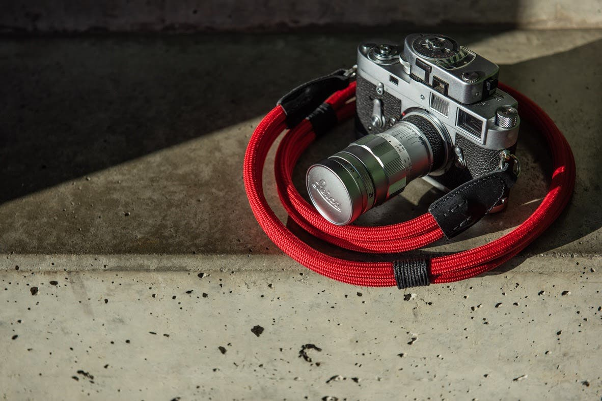 Double Rope Strap Is the Latest in COOPH x Leica Collaboration