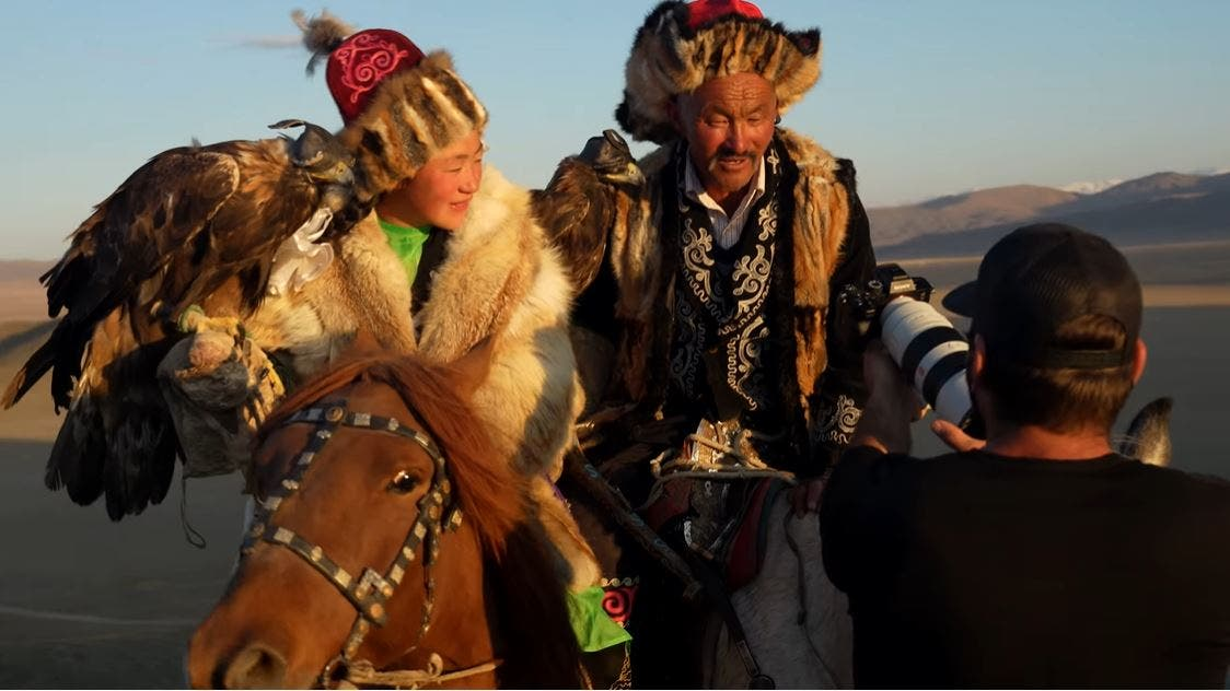 Documenting Eagle Hunting in Mongolia with the Sony A7R IV