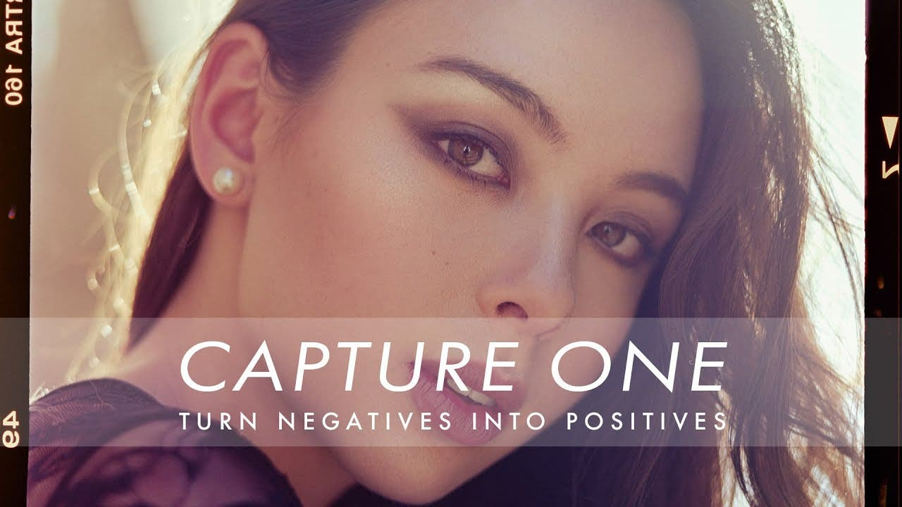 Two Ways to Turn a Negative Into a Positive Image Using Capture One