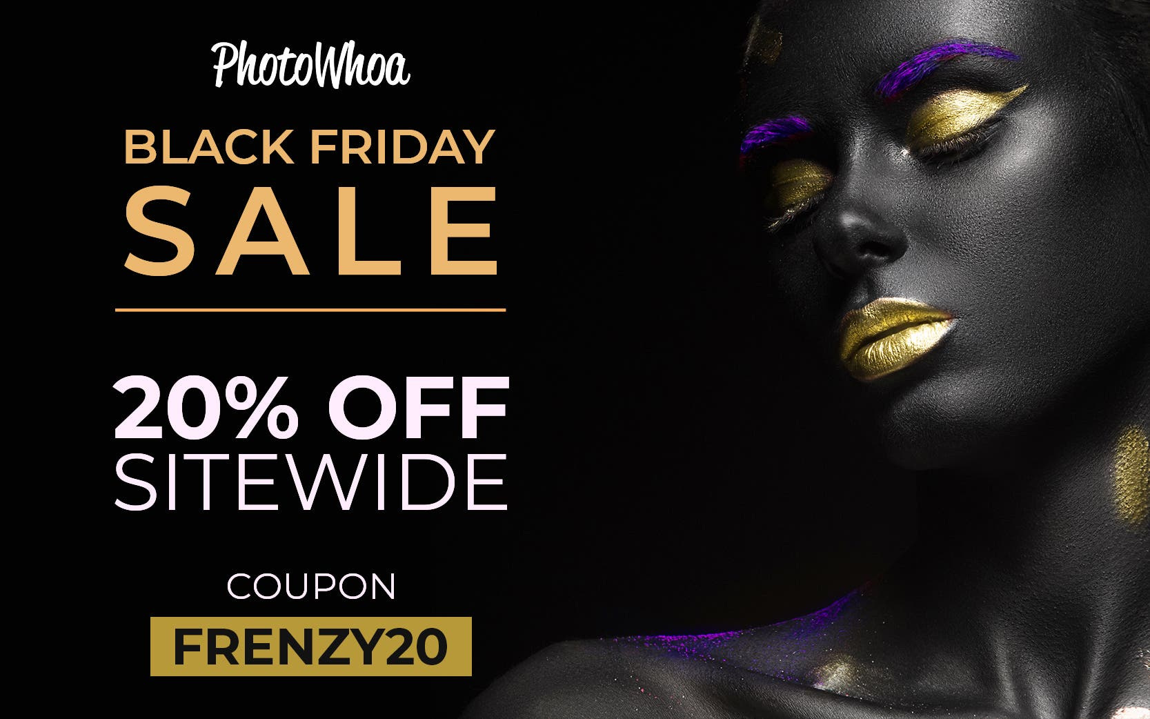 Save an Extra 20% Sitewide on Presets, Actions, Overlays and Software