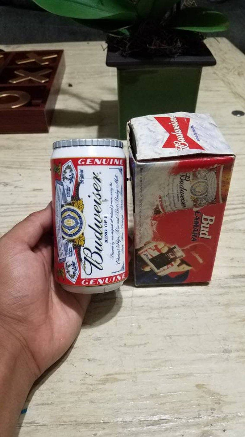 Does Anyone Remember the Budweiser Can Camera?