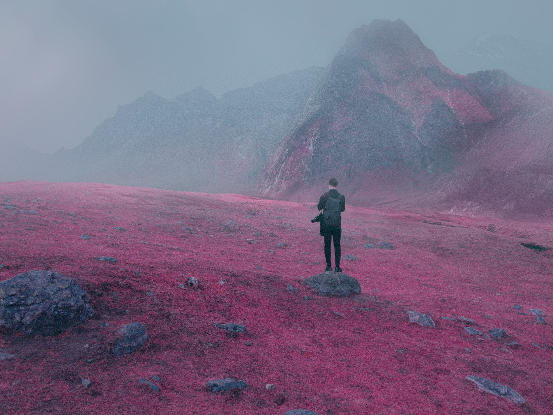 Jonas Daley Reimagines Chinese Landscapes as Surreal Scenery