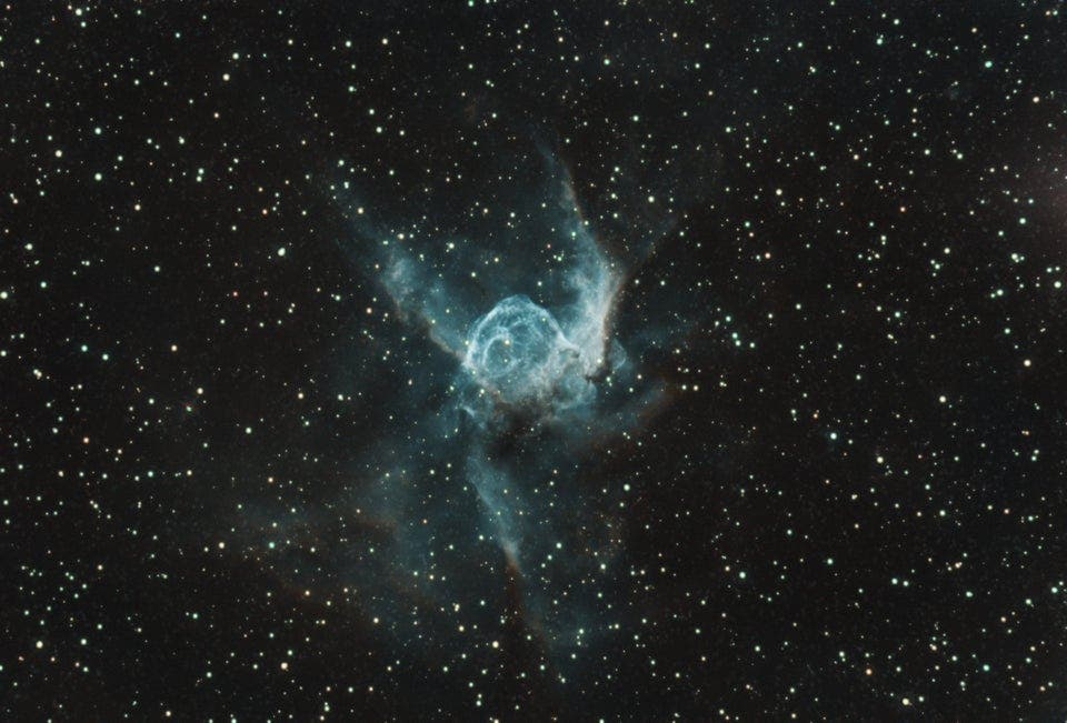 Astrophotography Inspiration: Photographing the Otherworldly Thor's Helmet Nebula