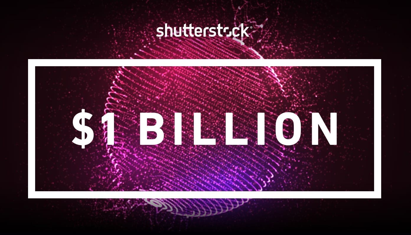 Shutterstock Total Global Contributor Earnings Surpass $1 Billion