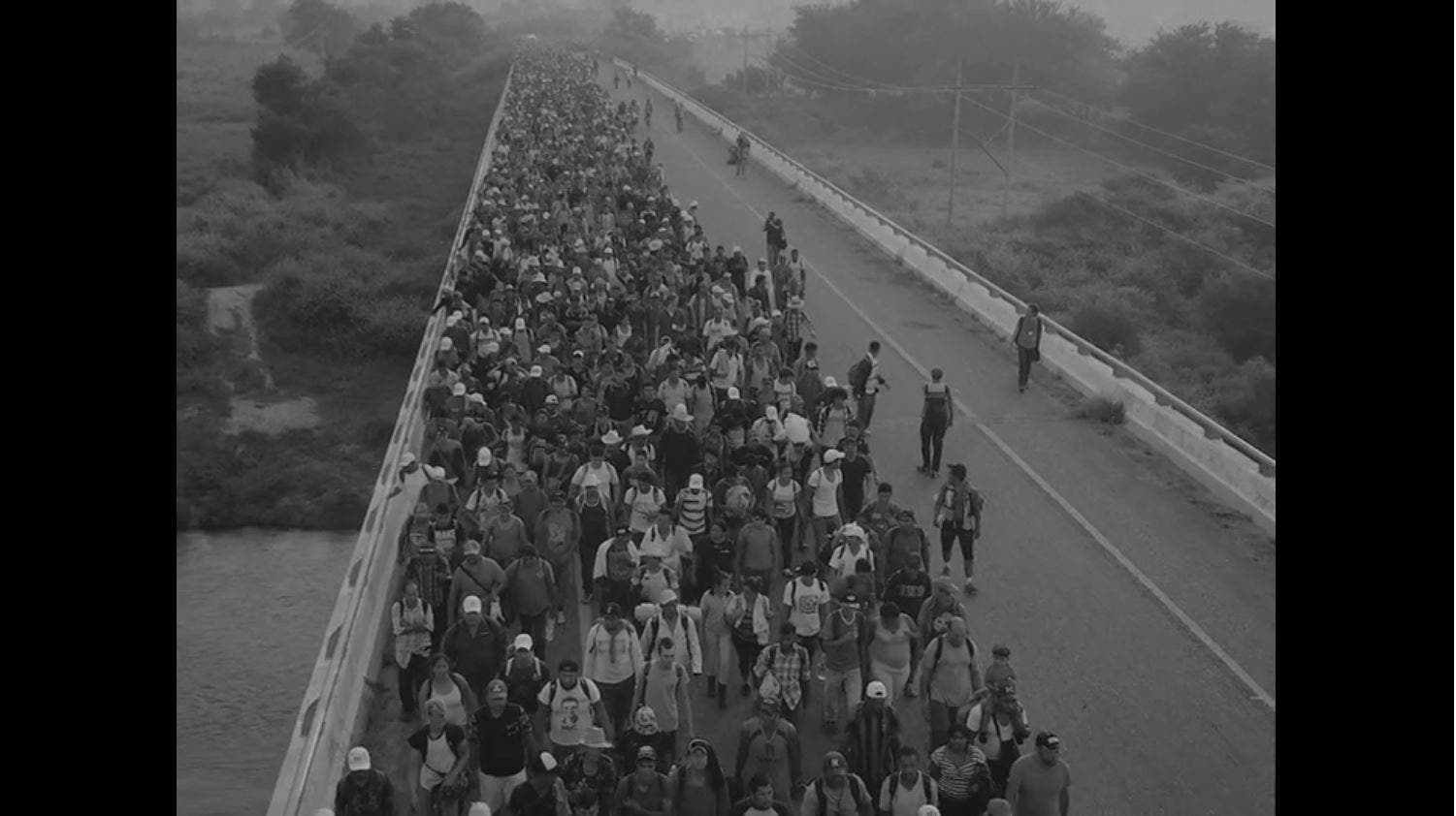 "Magnum Photographer Jim Goldberg Shot ""Migrant Caravan"" Short Film on Super 8"