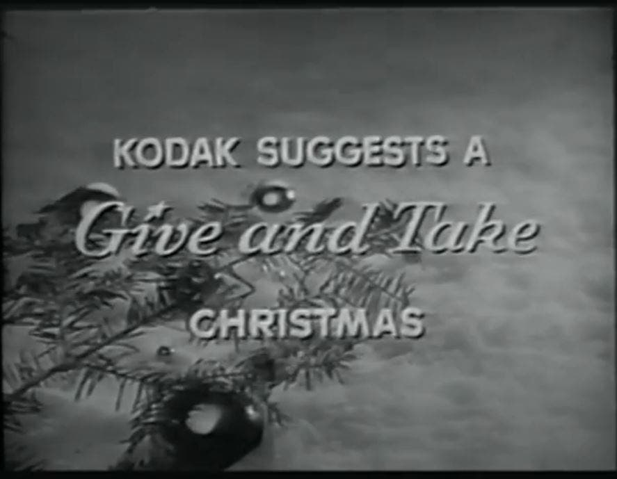 "This 1959 Ad Will Make You Dream of a ""Kodak Christmas"""