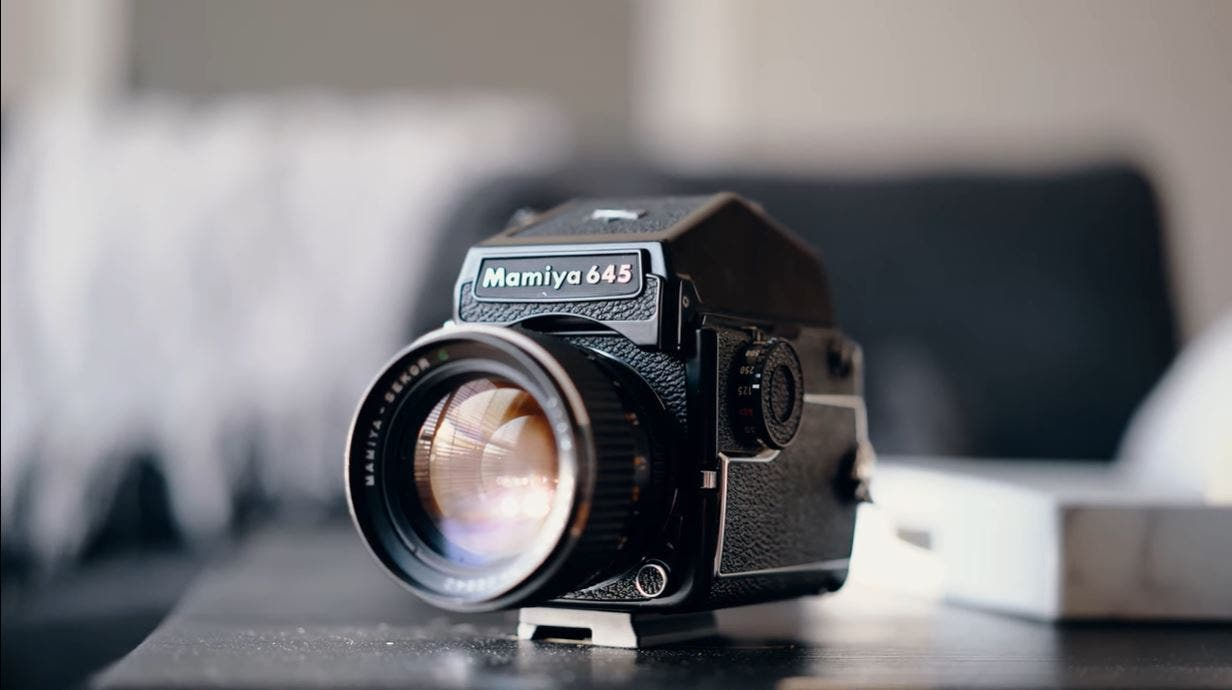 Why the Mamiya 645 Is a Great Medium Format Camera for Beginners